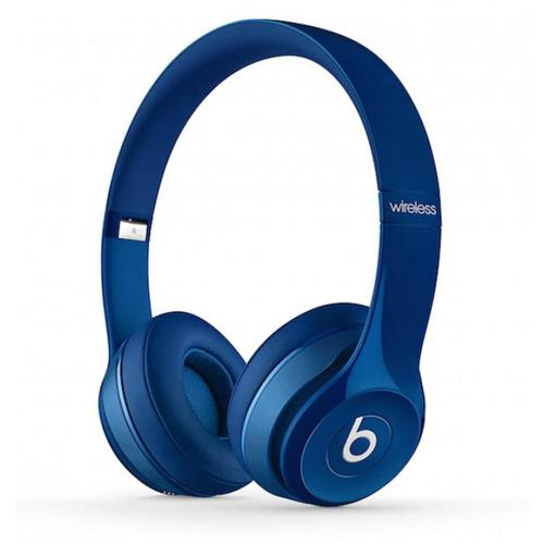 Beats Solo2 Wireless Headphones - Blue | Tradeline Egypt Apple