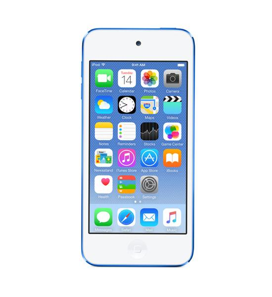 Apple iPod Touch 16GB - Blue | Display, Input and Output Tradeline Apple
