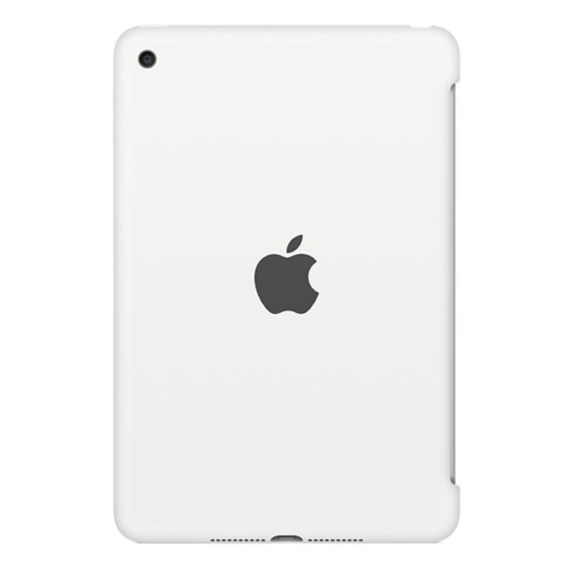 Apple iPad mini 4 Silicone Case - White - iPad mini 4 Wi-Fi Cell 16GB Silver accessory Tradeline