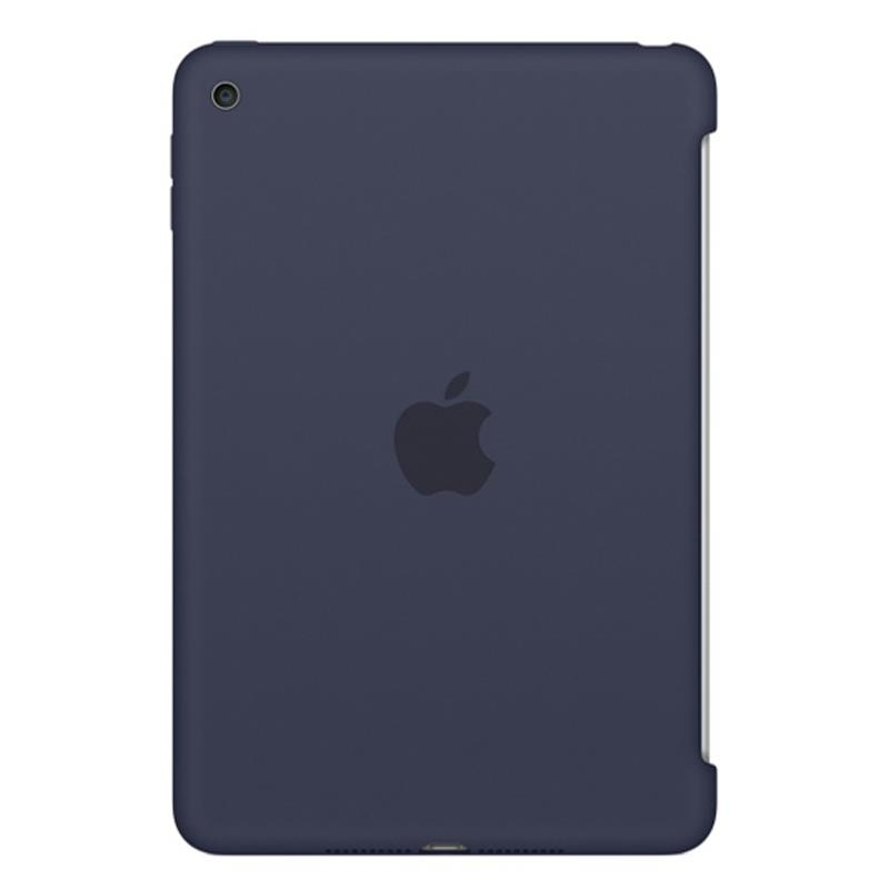 Apple iPad mini 4 Silicone Case - Midnight Blue - iPad mini 4 Wi-Fi Cell 16GB Silver accessory Tradeline
