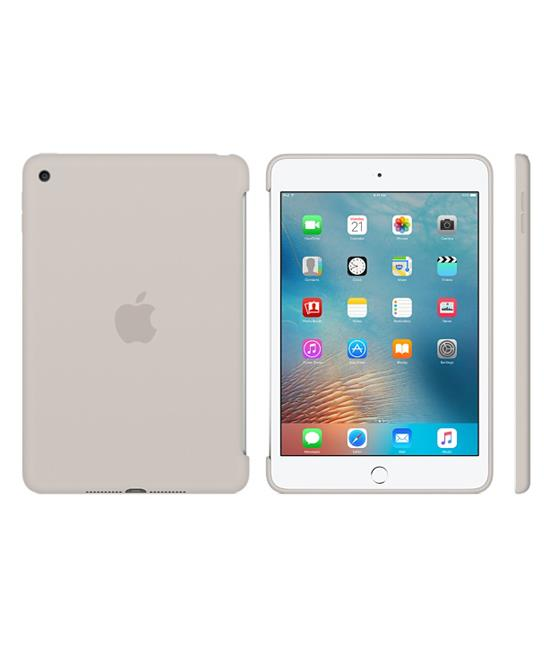 Apple iPad mini 4 Silicone Case - Stone