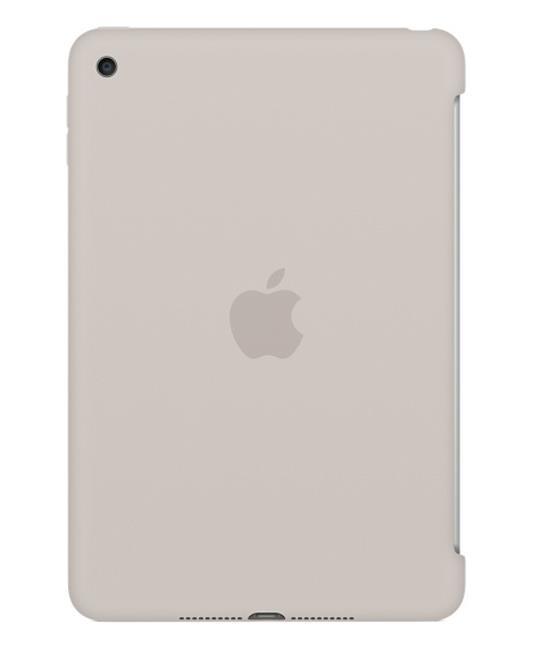 Apple iPad mini 4 Silicone Case - Stone - iPad mini 4 Wi-Fi Cell 16GB Gold accessory Tradeline