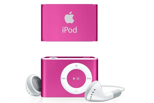 Apple iPod Shuffle 2GB - Pink | Power and Battery Tradeline Apple