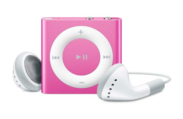 Apple iPod Shuffle 2GB - Pink | Buttons and VoiceOver Tradeline Apple
