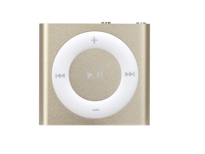 Apple iPod Shuffle 2GB - Gold | Buttons and VoiceOver Tradeline Apple