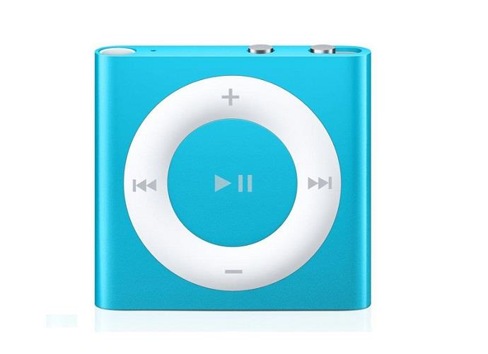 Apple iPod Shuffle 2GB - Blue | Buttons and VoiceOver Tradeline Apple