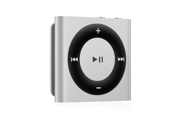 how to know if ipod shuffle is fully charged
