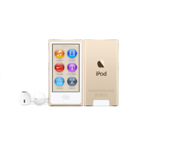 Apple iPod nano 16GB - Gold | Your own personal DJ Tradeline Apple