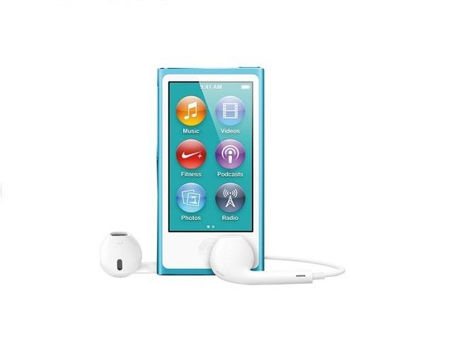 Apple iPod Nano 16GB - Blue | Get in touch with your music Tradeline Apple