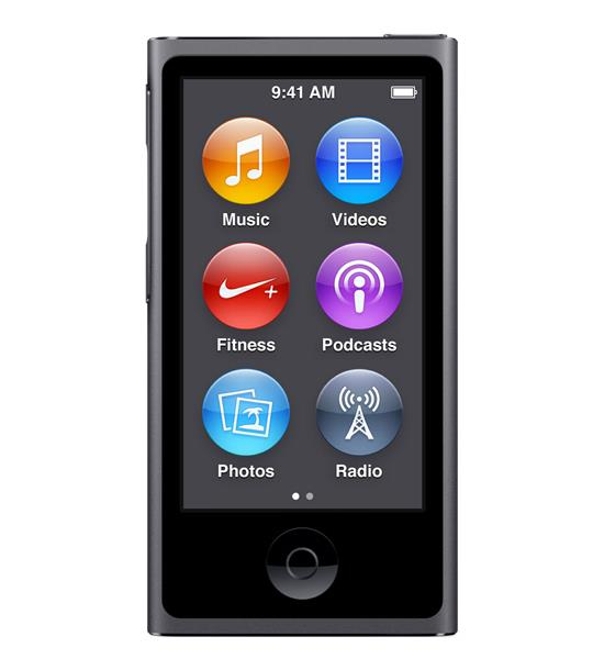 Apple iPod Nano 16GB - Space Gray | Get in touch with your music Tradeline Apple