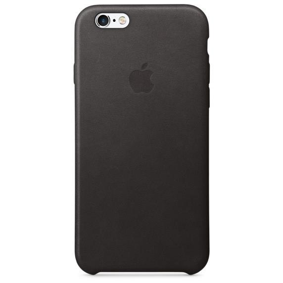 Apple iPhone 6/6s Plus Leather Case Black   Tradeline Egypt Apple