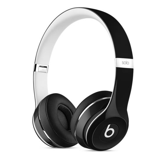 Beats Solo2 On-Ear Headphones (Luxe Edition) - Black | Tradeline Egypt Apple