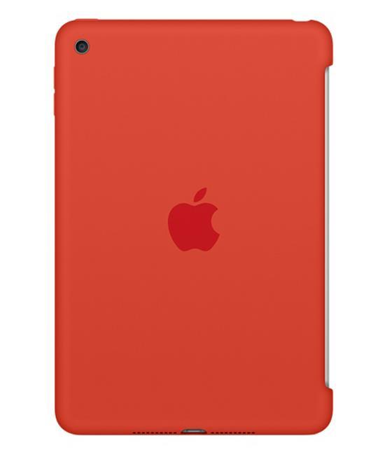 Apple iPad mini 4 Silicone Case - Orange - iPad mini 4 Wi-Fi Cell 128GB Space Gray accessory Tradeline