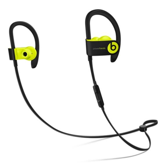 Powerbeats3 Wireless Earphones - Shock Yellow | Tradeline Egypt Apple