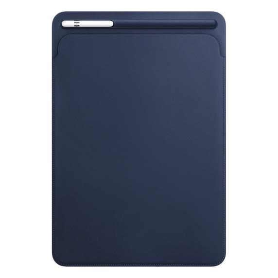 Leather Sleeve for 10.5‑inch iPad Pro - Midnight Blue | Tradeline Egypt Apple