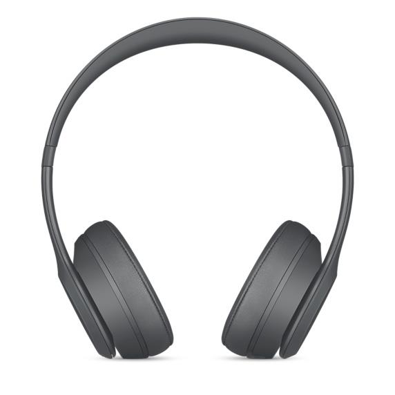 Beats Solo3 Wireless Headphones - Asphalt Gray | Tradeline Egypt Apple