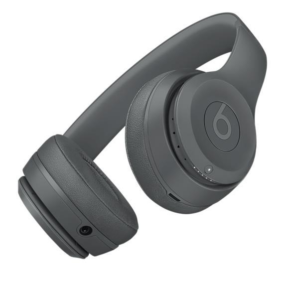Beats Solo3 Wireless Headphones - Asphalt Gray