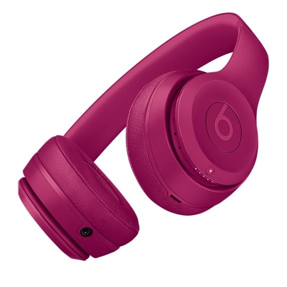 Beats Solo3 Wireless Headphones - Brick Red
