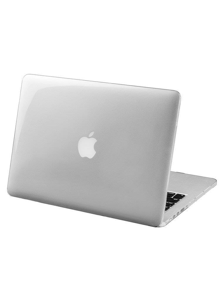 "LAUT HUEX Protective Hard Case for MacBook Pro 13"" With Retina Display Clear 