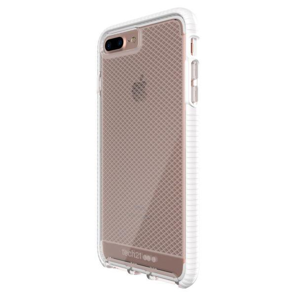Tech21 Evo Check for iPhone 8 Plus/7 Plus Clear/White | Tradeline Egypt Apple