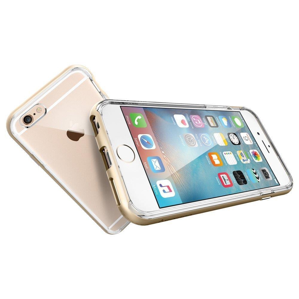 Spigen Neo Hybrid EX Metalized Buttons for iPhone 6s/6 Gold