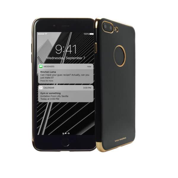 VIVA MADRID 360 Flexible Full Protection For iPhone 7 Plus Caviar Gunmetal | Tradeline Egypt Apple