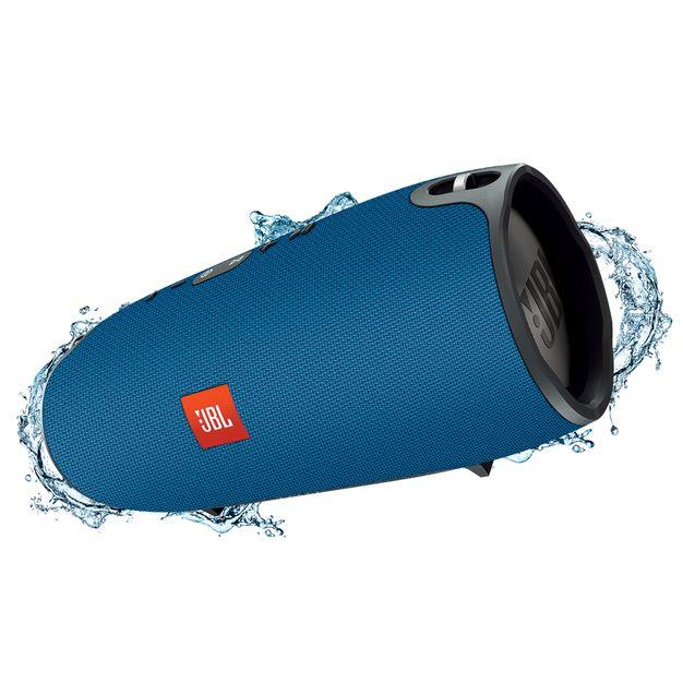 JBL Xtreme Portable Bluetooth Speaker Blue | Tradeline Egypt Apple