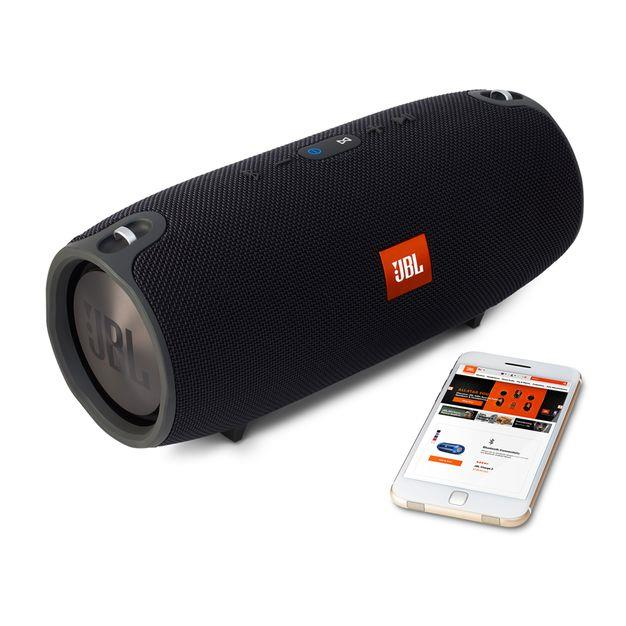 JBL Xtreme Portable Bluetooth Speaker Black | A Splash Proof Design Tradeline Apple