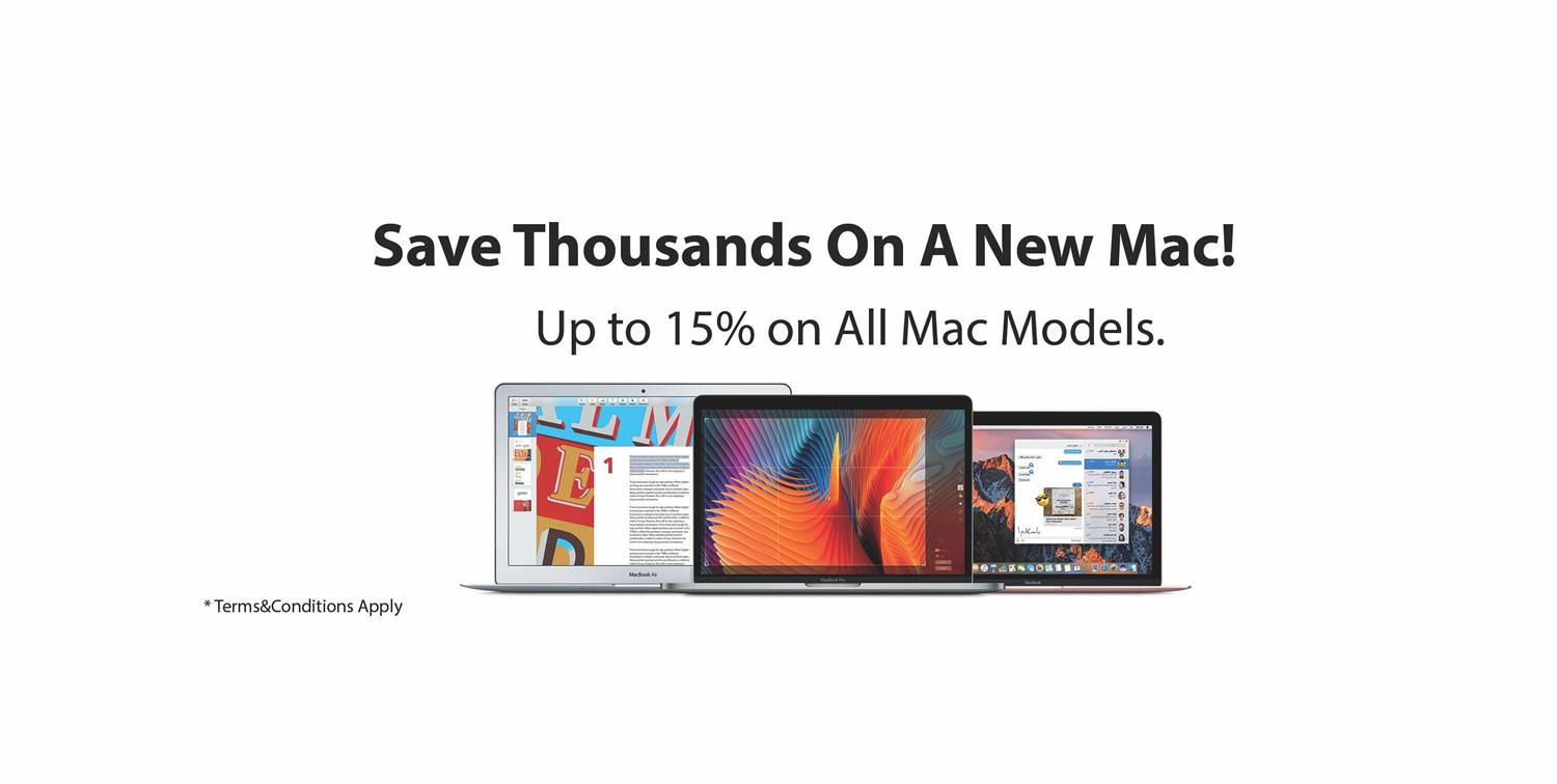 Save Thousands on a New Mac - Tradeline Stores Payment
