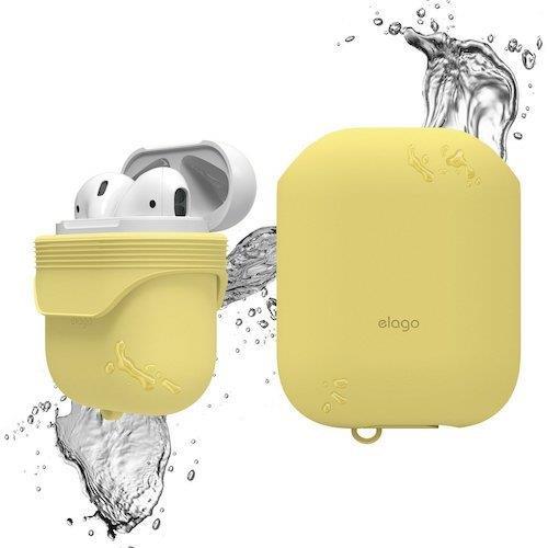 Elago AirPods WaterProof Case Creamy Yellow | Tradeline Egypt Apple