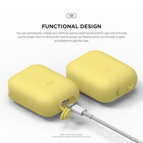 Elago AirPods WaterProof Case Creamy Yellow