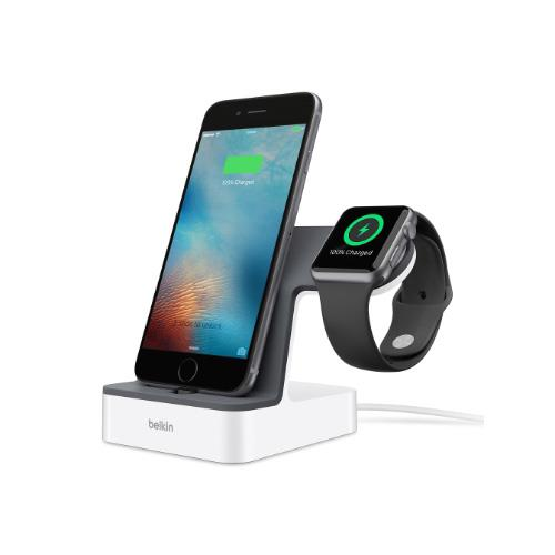 Belkin PowerHouse Charge Dock Apple Watch + iPhone | Tradeline Egypt Apple