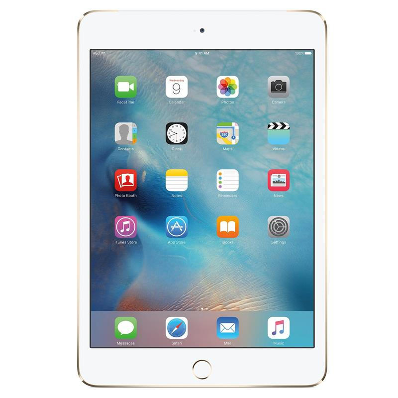 iPad mini 4 Wi-Fi Cell 128GB Gold | Tradeline Egypt Apple