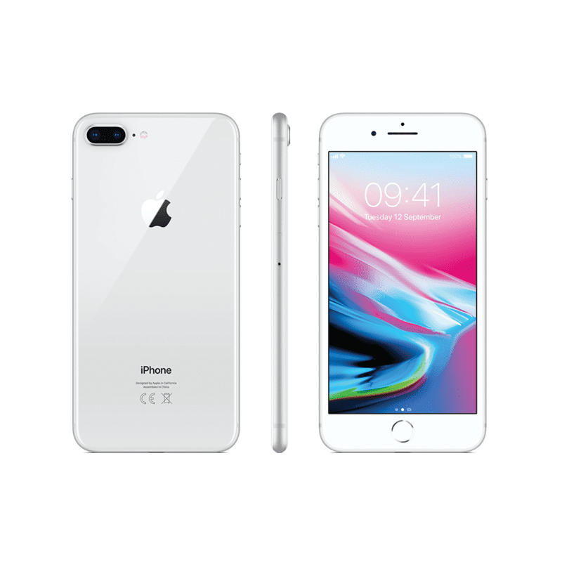 Apple iPhone 8 Plus 64GB Silver | Power Efficiency Tradeline Apple