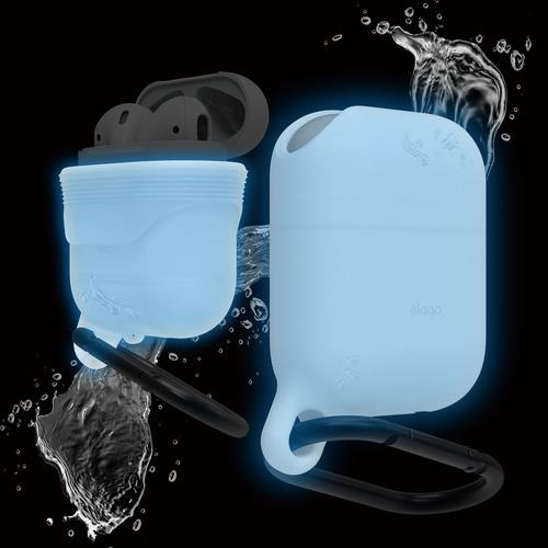 elago AirPods WaterProof Hang Case Night Glow | Tradeline Egypt Apple