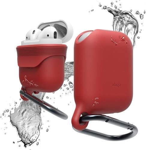 elago AirPods WaterProof Hang Case Red | Tradeline Egypt Apple