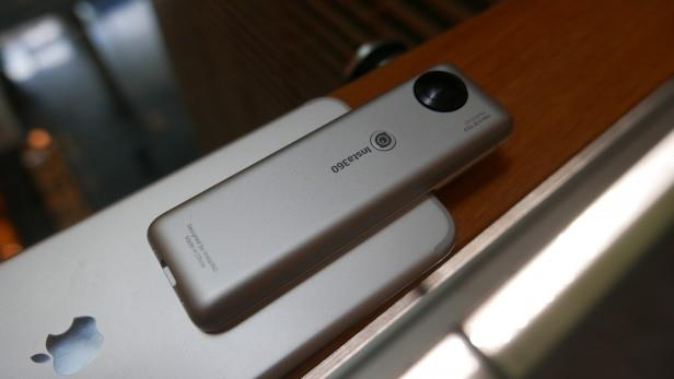 Insta360 Nano Panoramic Camera | INSTA360 – APP AND LIVE STREAMING Tradeline Apple