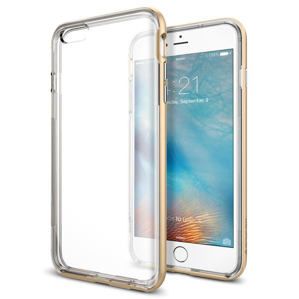 Spigen Neo Hybrid EX Champagne Gold iPhone 6 Plus/6S Plus | Tradeline Egypt Apple