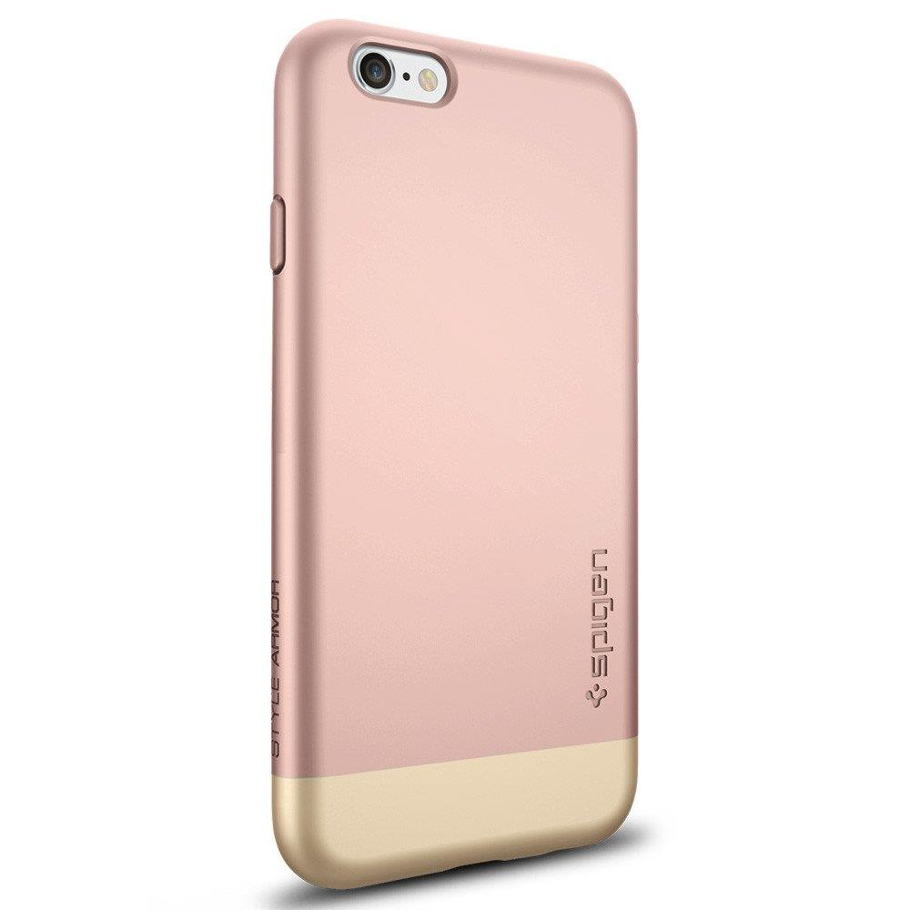Spigen Style Armo For iPhone 6s Rose Gold