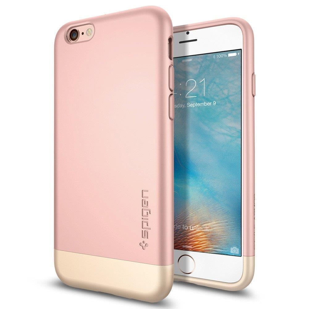 Spigen Style Armo For iPhone 6s Rose Gold | Tradeline Egypt Apple