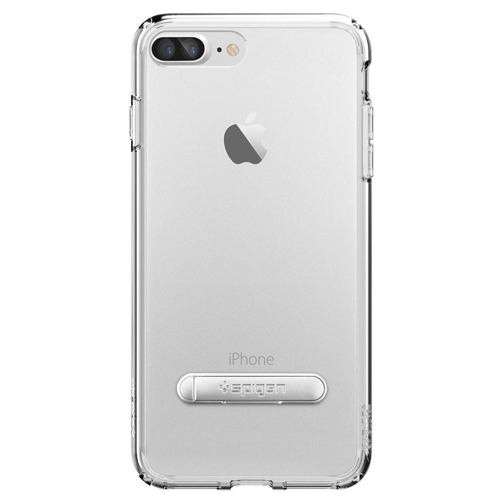 Spigen iPhone 7 Plus Case Ultra Hybrid Crystal Clear | Tradeline Egypt Apple