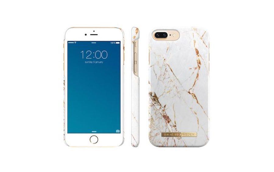 iDeal of Sweden Carrara Gold For iPhone 7 Plus & 8 Plus