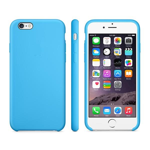 Apple iPhone 6/6s Plus Silicone Case Blue