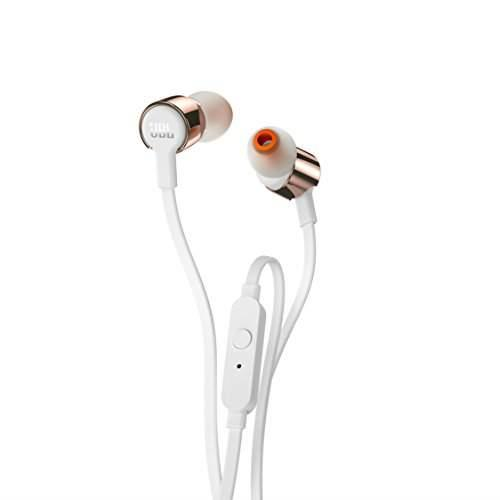 JBL T210 Rose Gold | Button Remote With Microphone Tradeline Apple