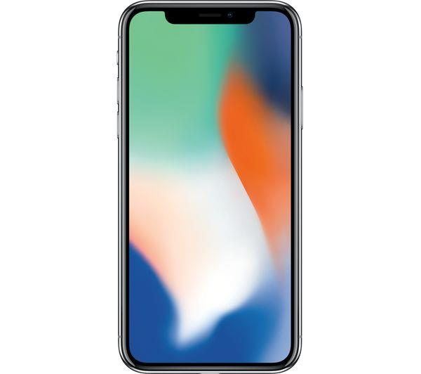 Apple iPhone X 64GB Silver | OLED Designed for iPhone X Tradeline Apple
