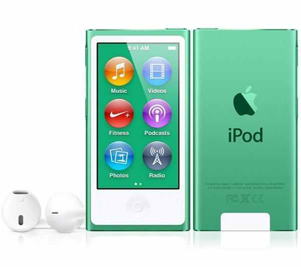 Apple iPod Nano 16GB - Green | Your own personal DJ Tradeline Apple