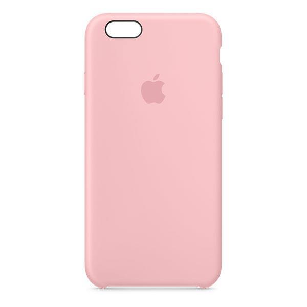 Apple iPhone 6/6s Silicone Case Pink - iPhone 6s 128GB Silver accessory Tradeline