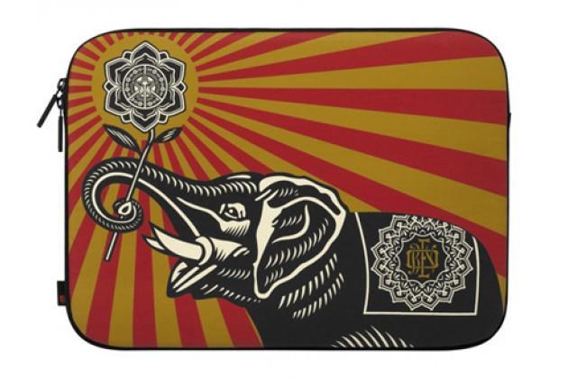 Incase Shepard Fairey Coated Canvas Sleeve Obey Elephant | Tradeline Egypt Apple