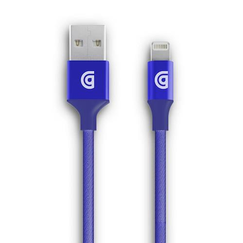 Griffin Premium USB Lightning Cable Blue 3M | Tradeline Egypt Apple