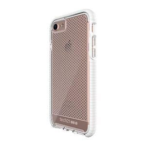 Tech21 Evo Check for iPhone 7 Clear/White - Apple iPhone 7 32GB Rose Gold accessory Tradeline